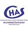 We are CHAS Accredited Contractors